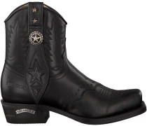 Schwarze Sendra Cowboystiefel 14856