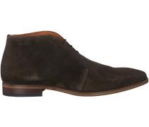 Braune Van Lier Business Schuhe 6001