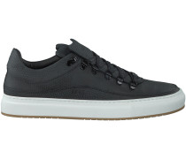 Schwarze Nubikk Sneaker JULIEN MIELE LIZARD