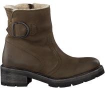 Grüne Via Vai Ankle Boots 4907085
