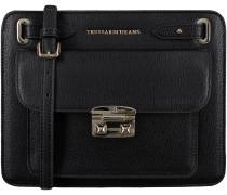 Schwarze Trussardi Jeans Handtasche 75B465