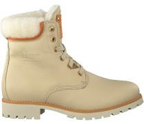 Weiße Panama Jack Ankle Boots PANAMA 03 IGLOO TRAVELLING
