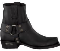 Schwarze Sendra Stiefel 9077