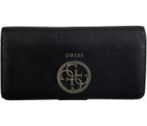 Schwarze Guess Portemonnaie SWVG64