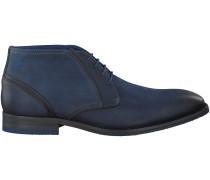 Blaue Braend Business Schuhe 424417