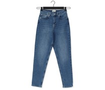 Straight Leg Jeans Comfort Mom Jeans Blau Damen