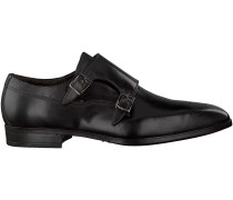 Schwarze Giorgio Business Schuhe HE50243