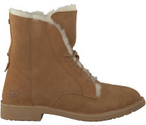 Camelfarbene UGG Ankle Boots QUINCY