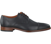 Schwarze Van Lier Business Schuhe 3484