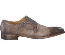 Braune Greve Business Schuhe 4405
