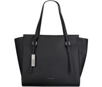 Schwarze Calvin Klein Handtasche M4RISSA LARGE TOTE