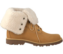 Camelfarbene Timberland Boots 6IN WP SHEARLING BOOT