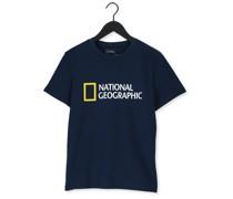 T-shirt Unisex T-shirt With Big Logo Dunkelblau Herren