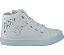 Weiße Liu Jo Sneaker UM22059