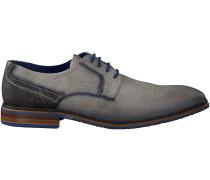 Graue Braend Business Schuhe 15696