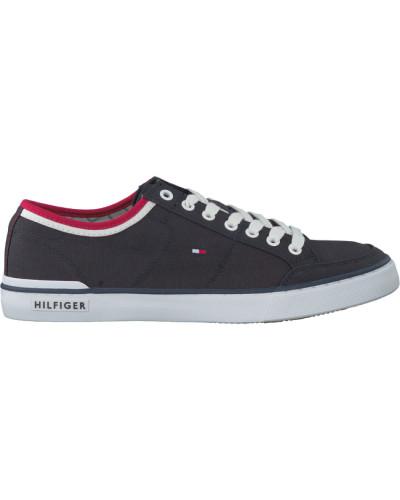 Tommy Hilfiger Damen Blaue Sneaker Core Corporate Textile Sneaker