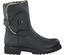 Schwarze Panama Jack Biker Boots FELIA