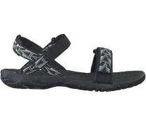 Schwarze Teva Sandaletten NOVA