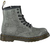 Graue Dr. Martens Boots DELANEY/BROOKLY