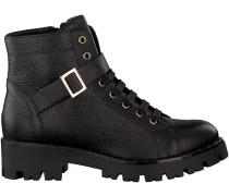 Schwarze Tosca Blu Shoes Schnürboots SF1713S247