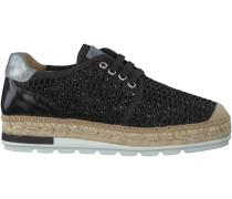 Schwarze Kanna Plateau Sneaker NIMES