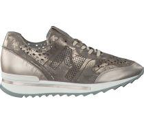 Taupe Maripé Sneaker 22365