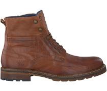 Cognac Rehab Boots CARL