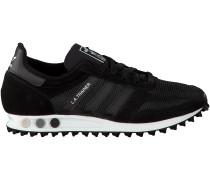Schwarze Adidas Sneaker LA TRAINER OG HERREN
