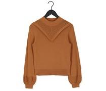 Pullover Sharon L/s Knit Pullover Camel Damen