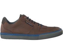 Cognac Floris van Bommel Sneaker 16158