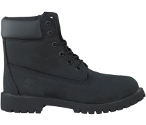 Schwarze Timberland Boots 6IN PRM WP BOOT KIDS