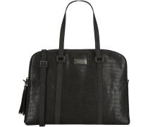 Schwarze Supertrash Handtasche JANE