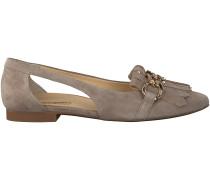 Beige Paul Green Ballerinas 3587