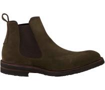 Grüne Greve Chelsea Boots 1405