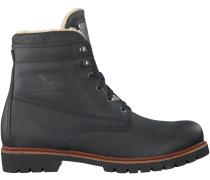 Schwarze Panama Jack Boots NEW AVIATOR