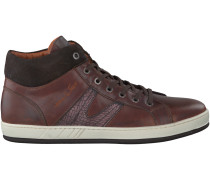 Braune Van Lier Sneaker 7281
