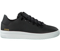 Schwarze Nubikk Sneaker YEYE LIZARD WOMAN