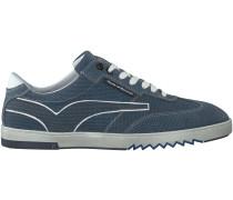 Blaue Floris van Bommel Sneaker 16074