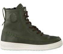 Grüne Kanjers Ankle Boots 5343LP
