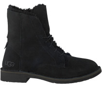 Schwarze UGG Ankle Boots QUINCY
