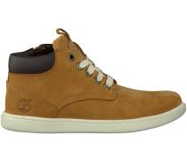 Camelfarbene Timberland Boots GROVETON LEATHER CHUKKA