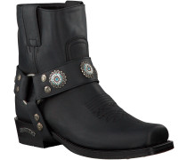 Schwarze Sendra Cowboystiefel 12670