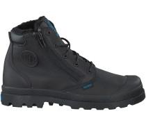 Schwarze Palladium Boots PAMPA HI CUFF K