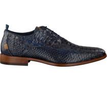 Business Schuhe Greg Snake Fantasy Blau Herren