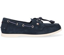 Slipper Essential Boat Shoe Wmns Blau Damen