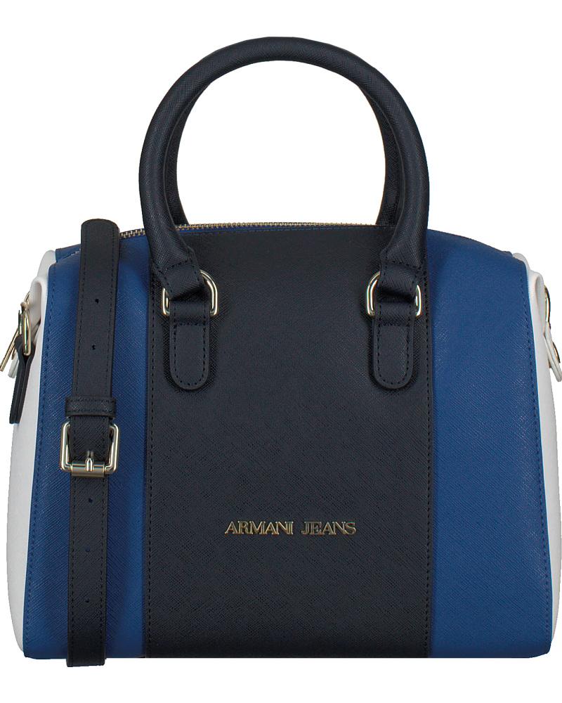 giorgio armani damen blaue armani handtasche c5204 reduziert. Black Bedroom Furniture Sets. Home Design Ideas