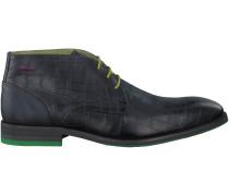 Blaue Braend Business Schuhe 424390