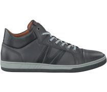 Graue Van Lier Business Schuhe 7305