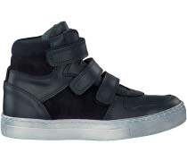 Blaue Omoda Ankle Boots SPACE 23
