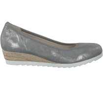 Graue Gabor Slipper 641